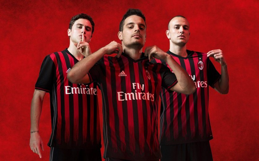 AC Milan Home Kit 2016/17