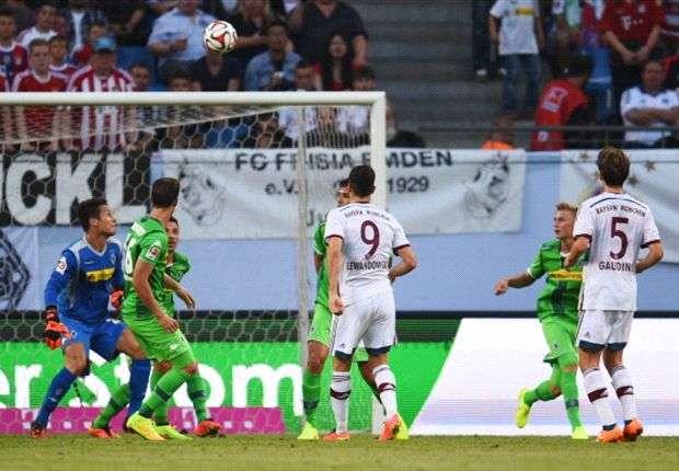 Genialer Moment: Lewandowskis Heber gegen Gladbach