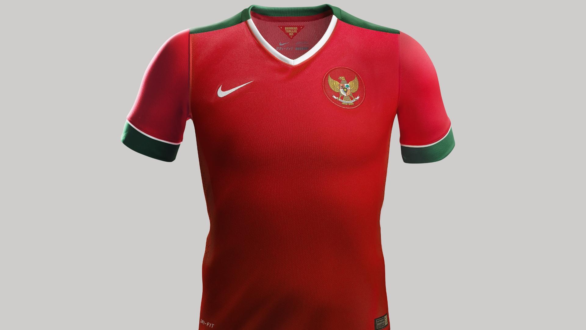 Jersey Timnas Indonesia - AFF 2014 - Goal.com