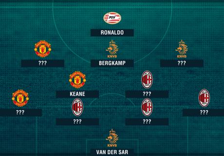 Ronaldo, Giggs & Tim Terbaik Stam