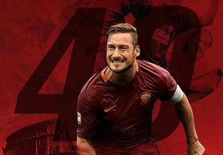 No Totti, No Party: Sepakbola Rayakan Ultah Totti