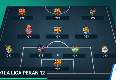 Tim Terbaik La Liga - Jornada 12