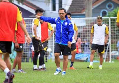 Arema Siapkan Simulasi Hadapi Sriwijaya FC