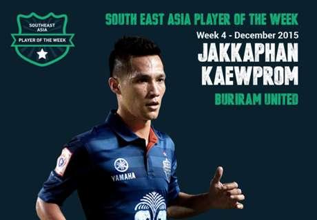 Goal Southeast Asia Player of the Week: จักรพันธ์ แก้วพรม