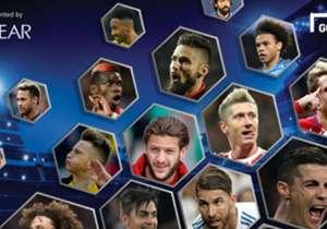 Tidak melulu soal <i>skill</i>, pesepakbola modern juga berupaya mencuri perhatian di lapangan dengan penampilan fisik keren, yang di antaranya ditunjang oleh tatanan rambut kece. Siapa saja pemilik gaya rambut terbaik pada 2017? Simak berikut ini!