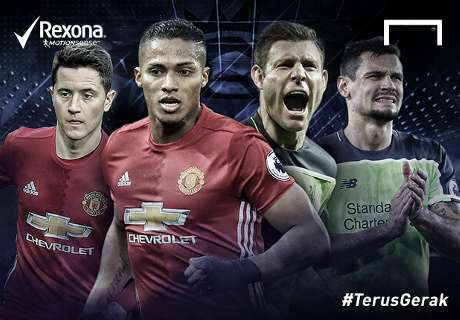 Valencia, Pemain #TerusGerak United Vs. Liverpool