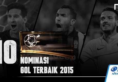 10 Nominasi Gol Terbaik 2015