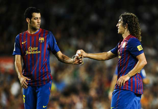Busquets thrilled to wear Puyol's shirt