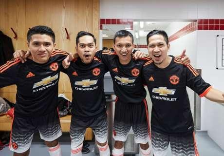 Fans Man United Ikuti Jejak Idola Di Chevrolet Fan Cup