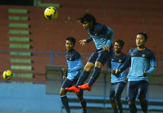 Pemain timnas U-23 yang belum main di dua laga sebelumnya mendapat kesempatan menghadapi Cagliari