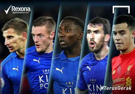 Siapa Pemain #TerusGerak Leicester-Liverpool?