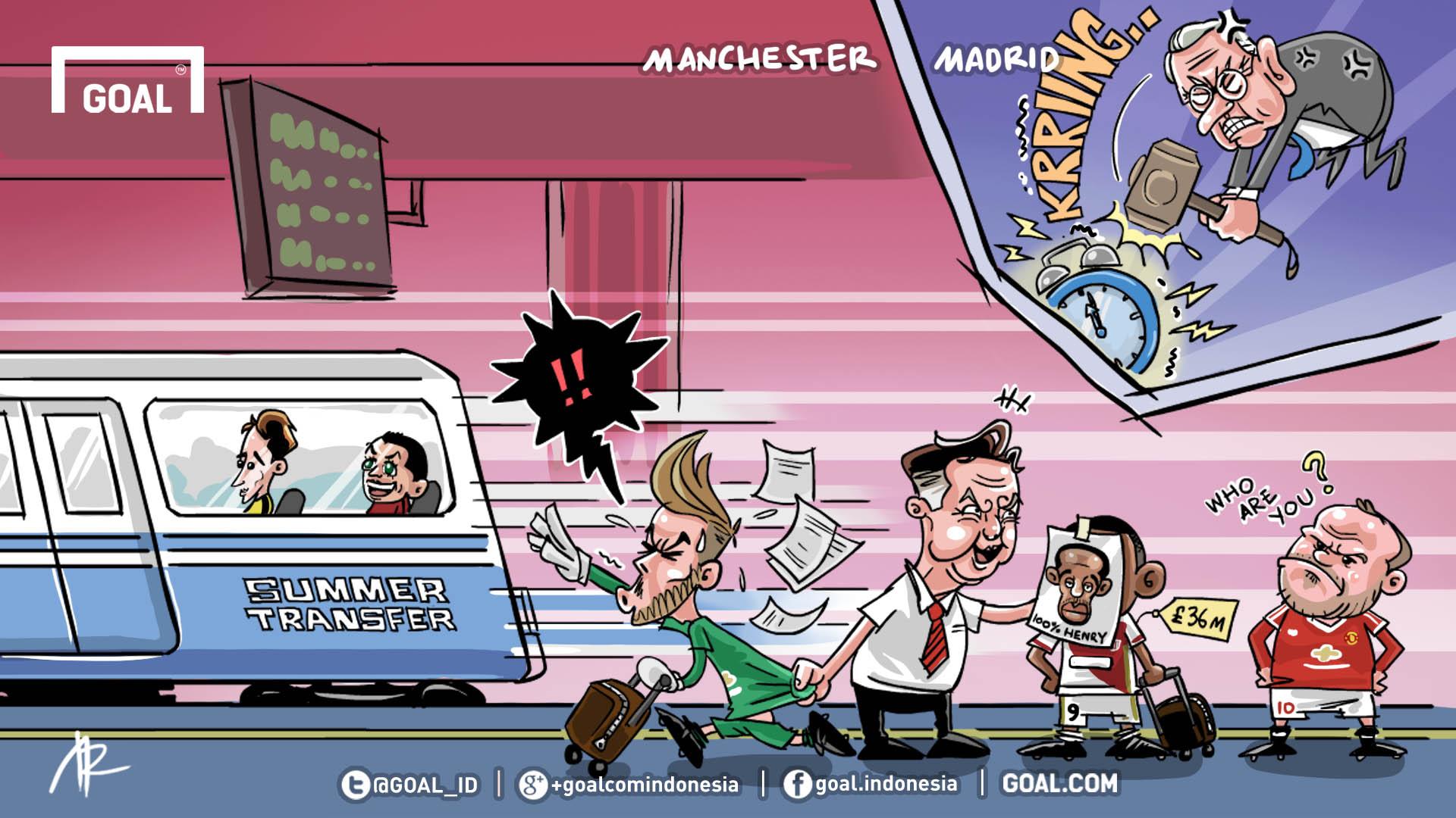 Антони Марсьяль, Давид Де Хеа, Уэйн Руни, Байер, Боруссия Дортмунд, Реал Мадрид, Луи ван Гал, Аднан Янузай, Манчестер Юнайтед, трансферы