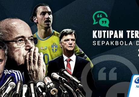 Kutipan Terbaik Sepakbola Dunia 2015