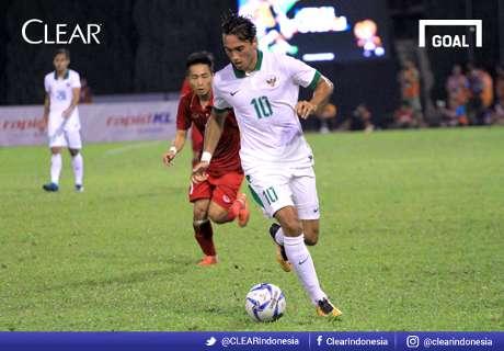 Sepuluh Pemain Timnas Indonesia Tahan Vietnam