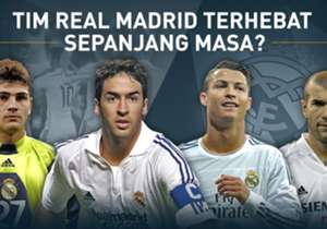 Jelang el clasico, kami memilih Real Madrid XI terhebat sepanjang sejarah. Siapa saja yang masuk?