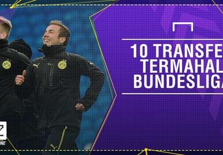 10 Transfer Termahal Bundesliga
