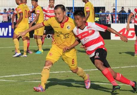 PREVIEW Liga 1: Madura United - Sriwijaya FC