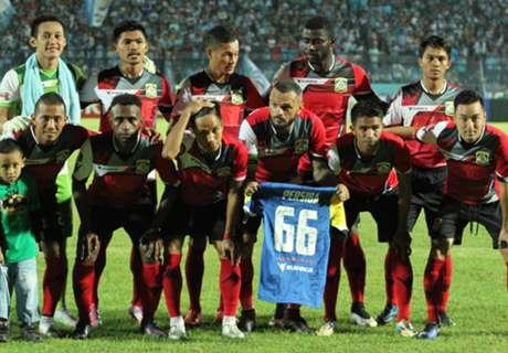 Dua Gol Persiba Tumbangkan PS TNI