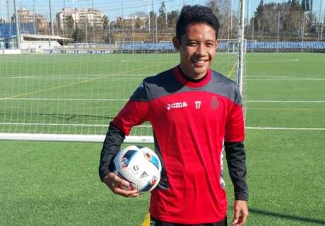 Evan Dimas Semakin Akrab Di Espanyol B