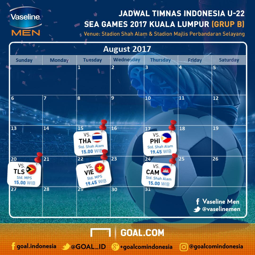 Vaseline Men - Jadwal SEA Games 2017