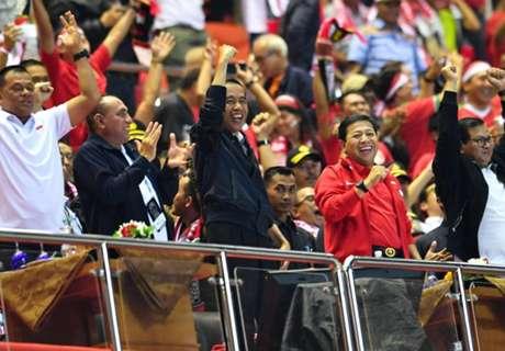 Jokowi Ucapkan Selamat Untuk Timnas