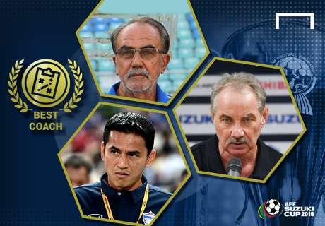 POLL: Best coach of the AFF Suzuki Cup