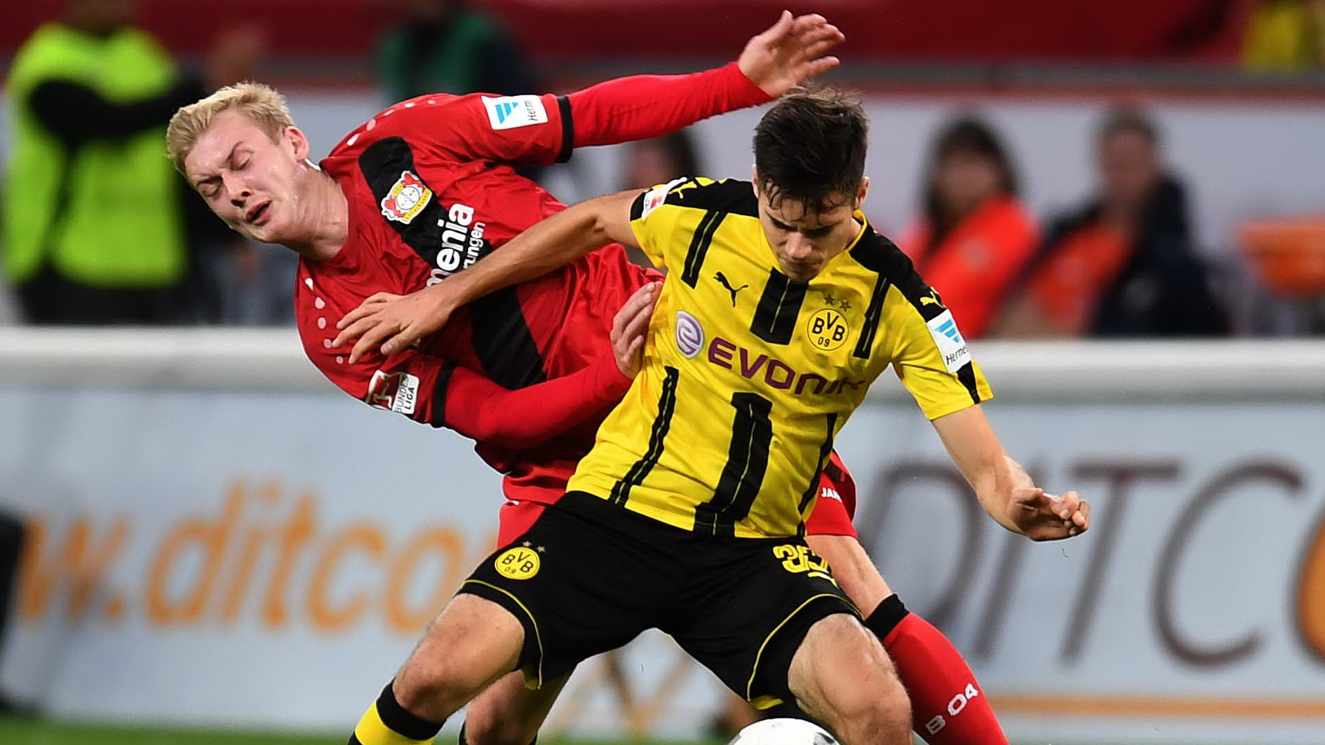 Julian Brandt & Julian Weigl - Bayer Leverkusen vs Borussia Dortmund