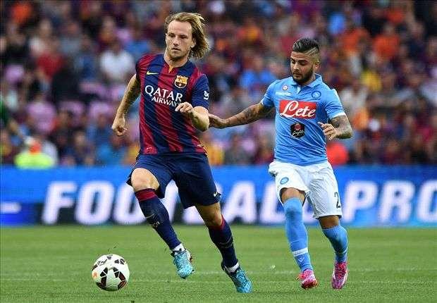 Ivan Rakitic Barcelona Napoli Pre Season 06082014