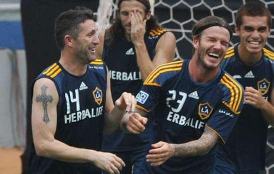 David Beckham pays tribute to Robbie Keane