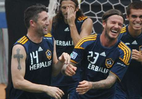 Beckham pays tribute to Keane