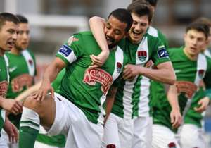 Kieran Djilali scored Cork City's second in their win over Drogheda United, while Lloyd Buckley also stars in this week's Team of the Week...