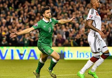 Ierland stunt tegen Duitsers