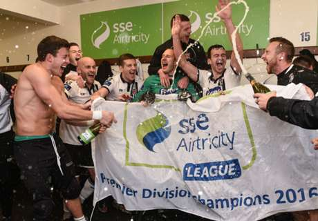 In Pictures: Dundalk win Premier Division