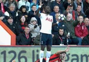 Moussa Sissoko Harry Arter Tottenham Bournemouth 22102016