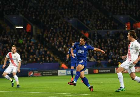 Champions: Leicester 2-1 Brujas
