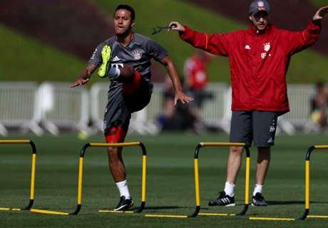 Thiago-Rückkehr gegen Arsenal?