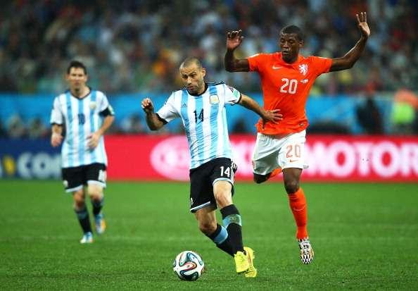 Javier Mascherano war entscheidend am Finaleinzug Argentiniens beteiligt