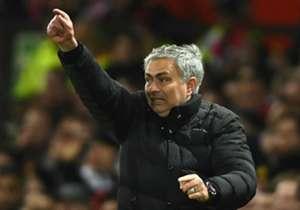 Jose Mourinho Manchester United 15012017