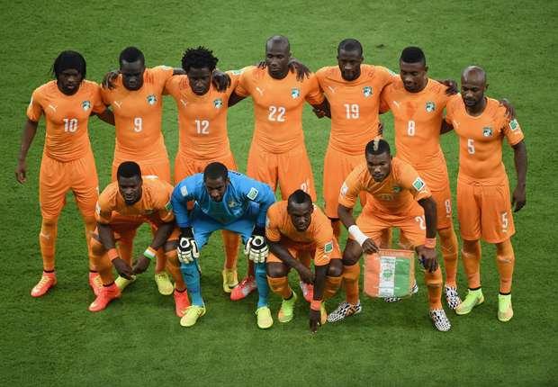 Ivory Coast, 2014 World Cup Group E 06142014