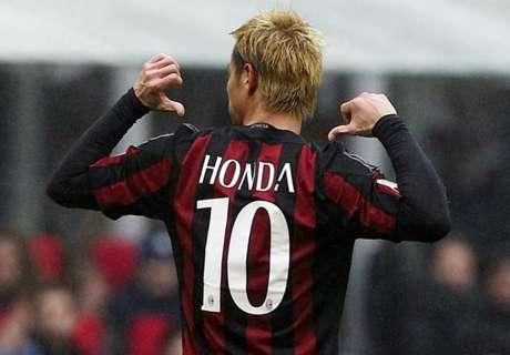 Milan 2-1 Genoa: Honda strikes