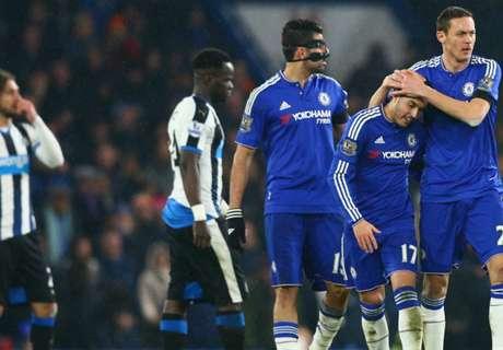 Chelsea-Newcastle 5-1, résumé de match