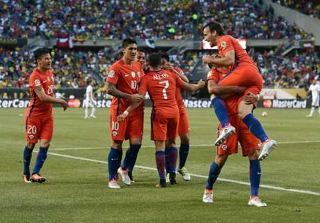 Chile storms through to Copa final