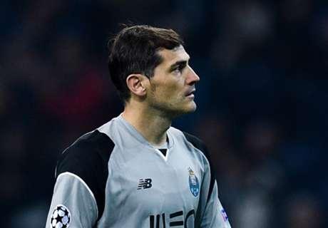 Casillas, boquiabierto con Oblak