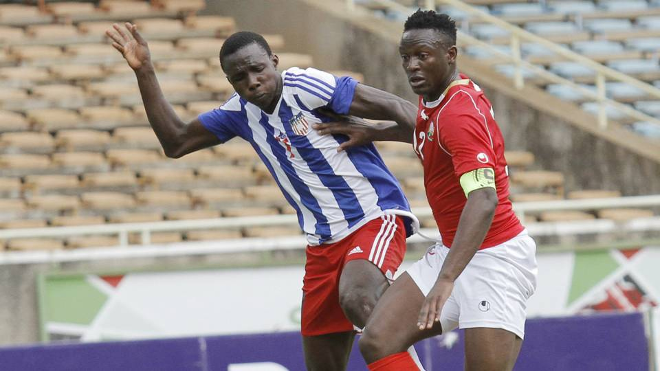 Harambee Stars captain Victor Wanyama was solid in the middle of the pack alongside Osborne Monday