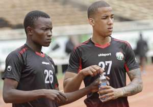 As Kenya prepares to face Tanzania on Sunday, new call up Gonzalez trained with the side for the first time