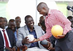 Newly elected President Nick Mwendwa had the chance to meet Deputy President William Ruto on Friday