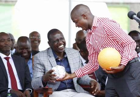 Nick Mwendwa meets William Ruto