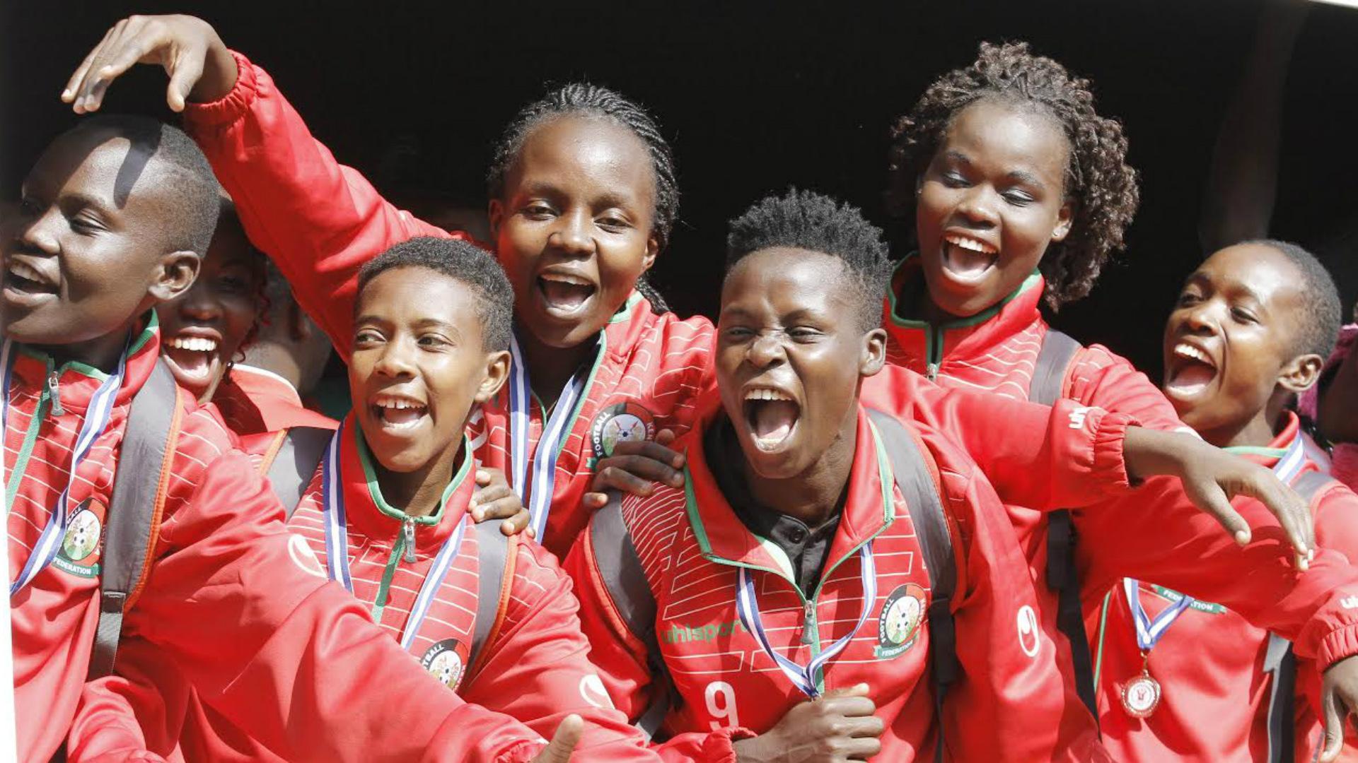 Harambee Starlets arrive from Uganda