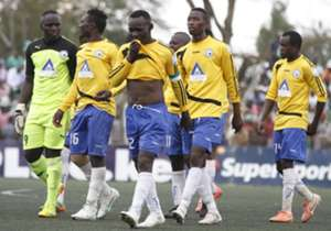 Sofapaka players in a past Kenyan league match