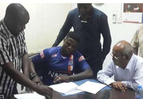 Wanga pens one year deal with Azam
